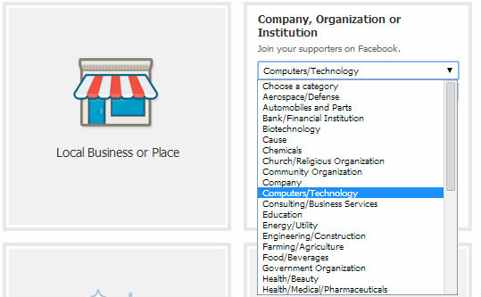 Company, Organization or Institution Category